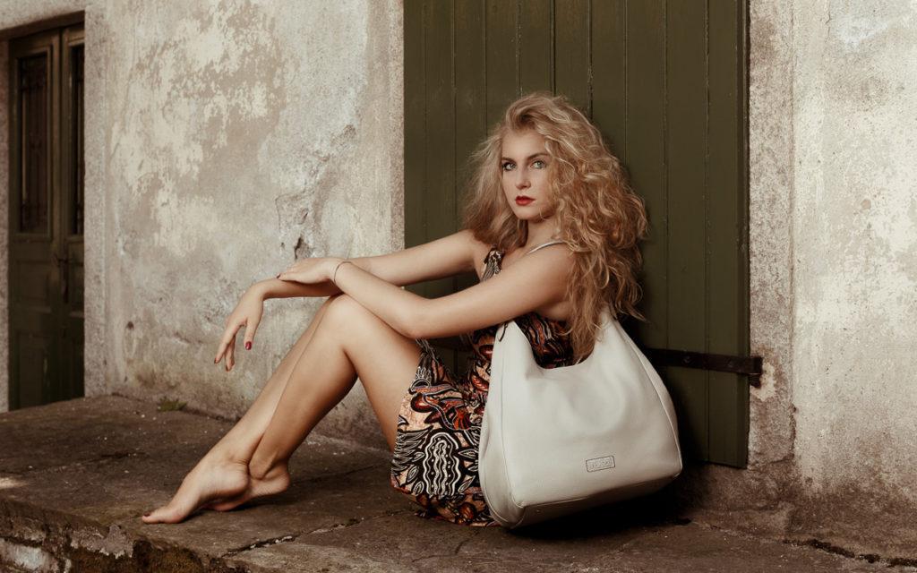 Handtasche Modell Verona Shopper Farbe cristal Tiano Collection Argegno