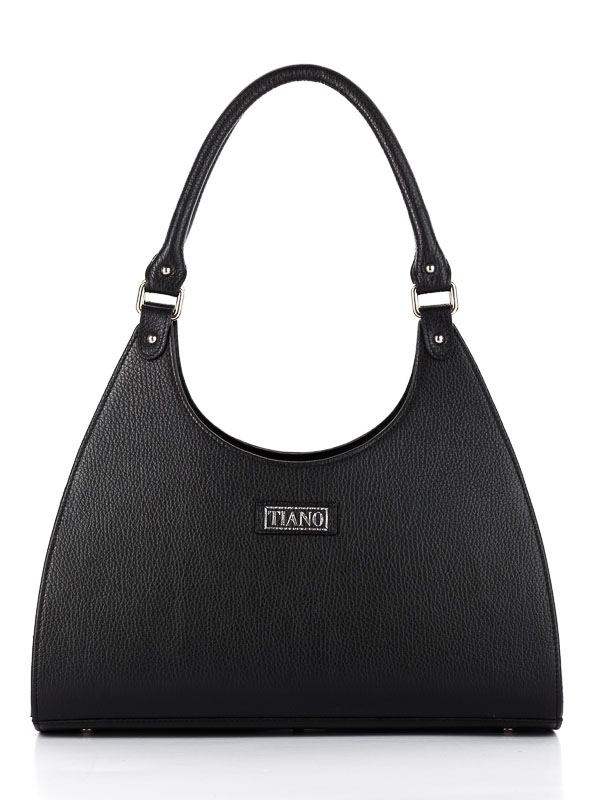 Tiano Collection Handbag Firenze Frame Color Black Front
