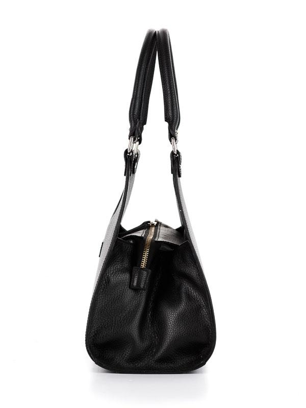 Tiano Collection Handbag Firenze Frame Color Black Side A