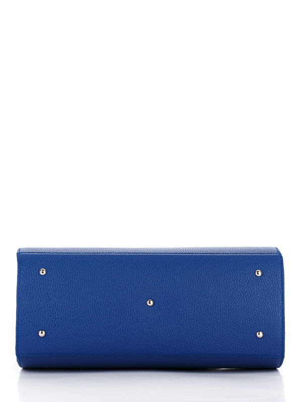 Tiano Collection Handbag Firenze Frame Color Bluette Base