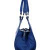 Tiano Collection Handbag Firenze Frame Color Bluette Side A