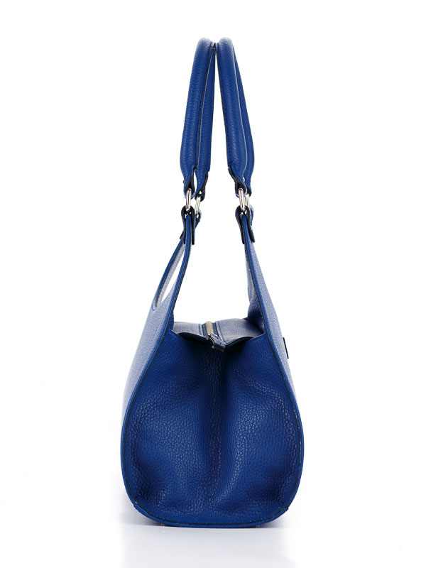 Tiano Collection Handbag Firenze Frame Color Bluette Side B