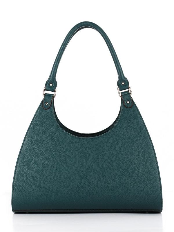 Tiano Collection Handbag Firenze Frame Color Petrolio Back