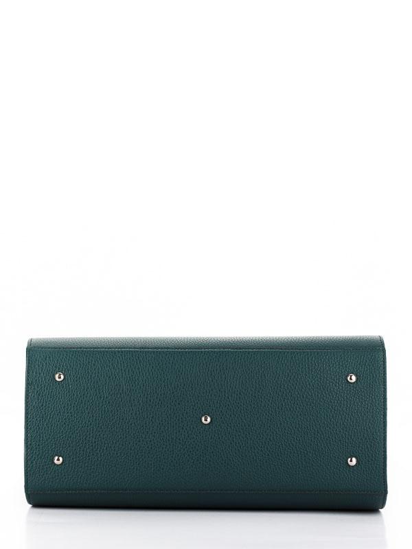 Tiano Collection Handbag Firenze Frame Color Petrolio Base