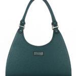 Tiano Collection Handbag Firenze Frame Color Petrolio Front