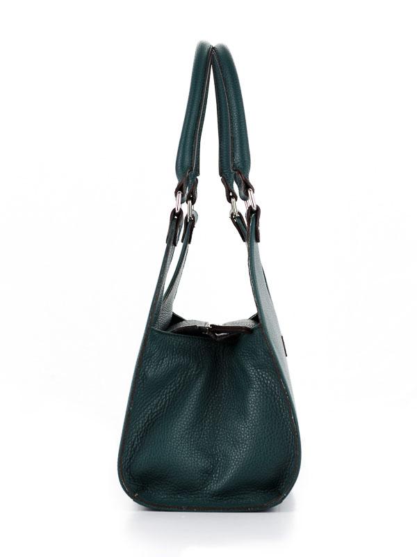 Tiano Collection Handbag Frame Color Petrolio Side B
