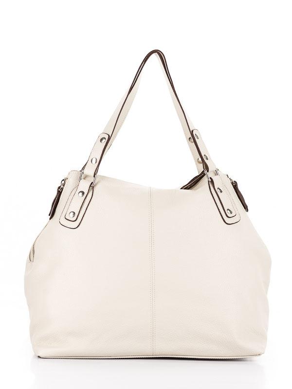 Tiano Collection Handbag Milano Shopper Color Beige Back