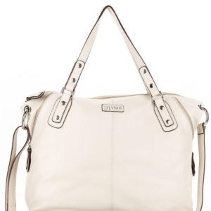 Tiano Collection Handbag Milano Shopper Color Beige Front