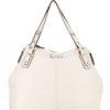 Tiano Collection Handbag Milano Shopper Color Beige Front Closed