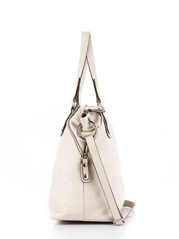 Tiano Collection Handbag Milano Shopper Color Beige Side A