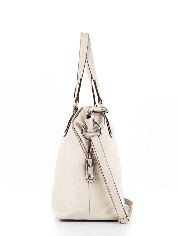 Tiano Collection Handbag Milano Shopper Color Beige Side B