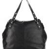 Tiano Collection Handbag Milano Shopper Color Black Back