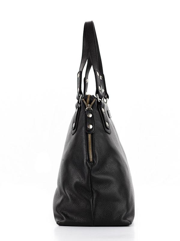 Tiano Collection Handbag Milano Shopper Color Black Side A