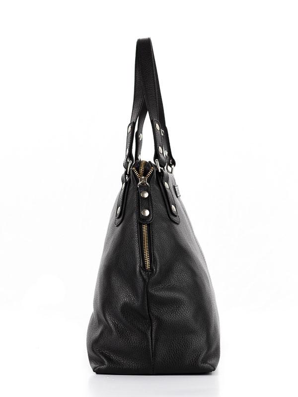 Tiano Collection Handbag Milano Shopper Color Black Side B