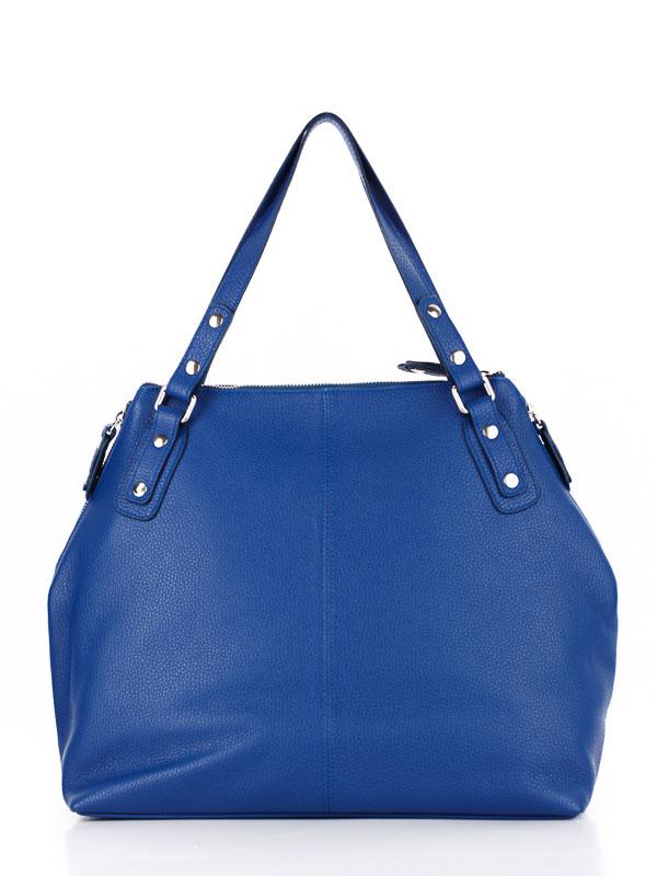 Tiano Collection Handbag Milano Shopper Color Bluette Back