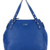 Tiano Collection Handbag Milano Shopper Color Bluette Front