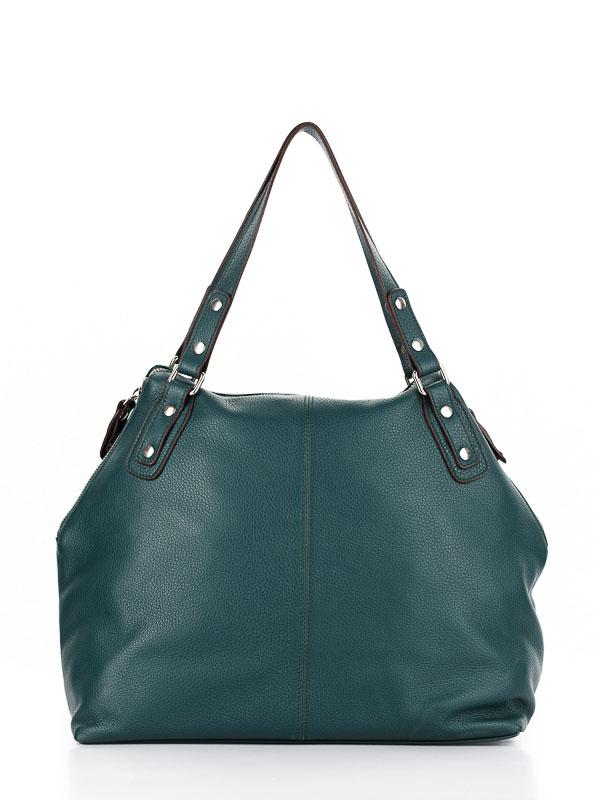 Tiano Collection Handbag Milano Shopper Color Petrolio Back
