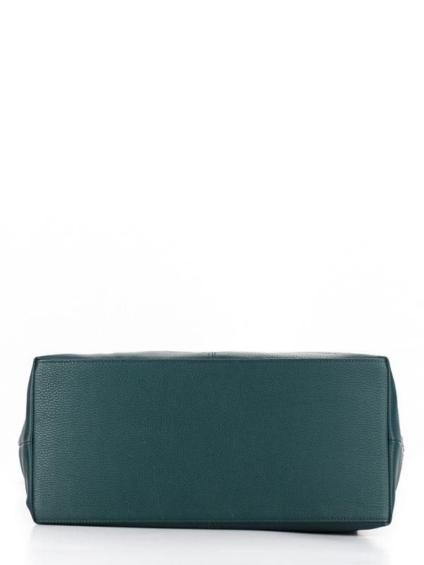 Tiano Collection Handbag Milano Shopper Color Petrolio Base