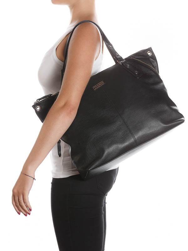 Tiano Collection Handbag Milano Shopper Silhuette