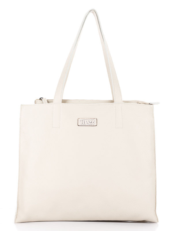 Tiano Collection Handbag Rimini Shopper Color Beige Front