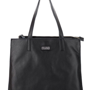Tiano Collection Handbag Rimini Shopper Color Black Front