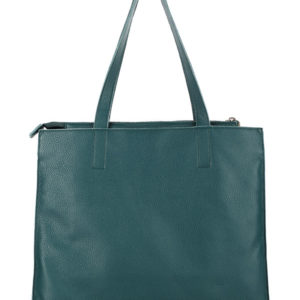 Tiano Collection Handbag Rimini Shopper Color Petrolio Back