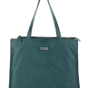 Tiano Collection Handbag Rimini Shopper Color Petrolio Front