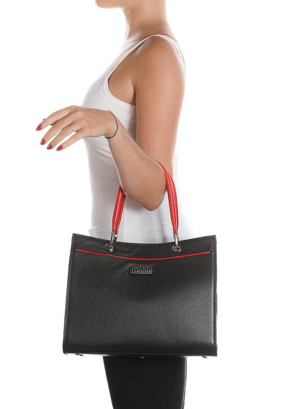 Tiano Collection Handbag Roma Saddler Silhuette