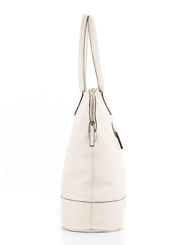 Tiano Collection Handbag Venezia Weekend Color Beige Side A