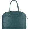 Tiano Collection Handbag Venezia Weekend Color Petrolio Back