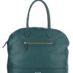 Tiano Collection Handbag Venezia Weekend Color Petrolio Front