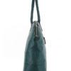 Tiano Collection Handbag Venezia Weekend Color Petrolio Side A