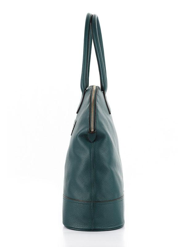 Tiano Collection Handbag Venezia Weekend Color Petrolio Side B