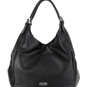 Tiano Collection Handbag Verona Shopper Color Black Front