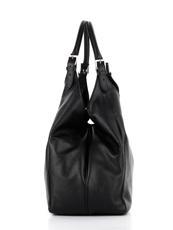 Tiano Collection Handbag Verona Shopper Color Black Side A