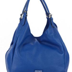 Tiano Collection Handbag Verona Shopper Color Bluett Front