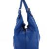 Tiano Collection Handbag Verona Shopper Color Bluett Side A