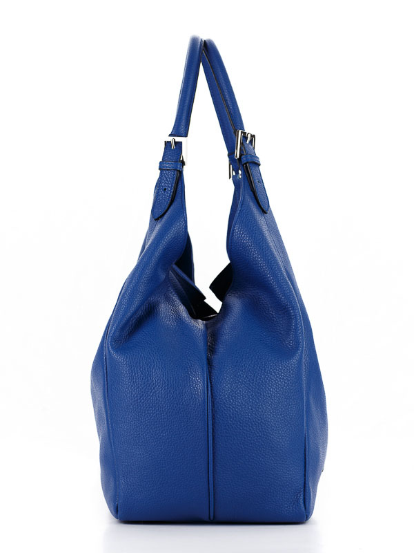 Tiano Collection Handbag Verona Shopper Color Bluett Side B