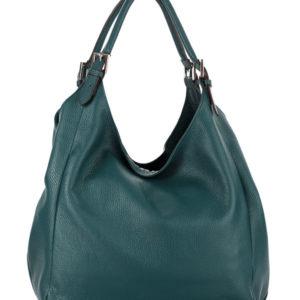 Tiano Collection Handbag Verona Shopper Color Petrolio Back