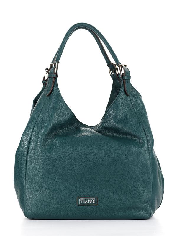 Tiano Collection Handbag Verona Shopper Color Petrolio Front