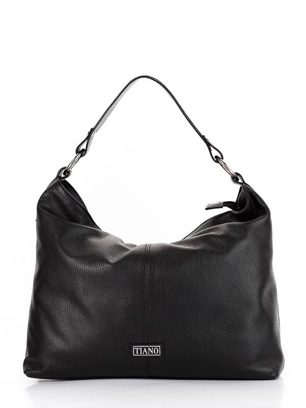 Tiano Collection Handbag Como Tote Color Black Front