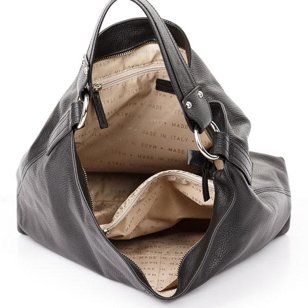 Tiano Collection Handbag Como Tote Color Black Inside