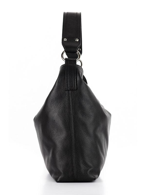 Tiano Collection Handbag Como Tote Color Black Side A