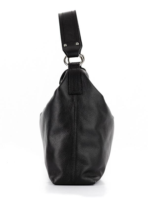 Tiano Collection Handbag Como Tote Color Black Side B