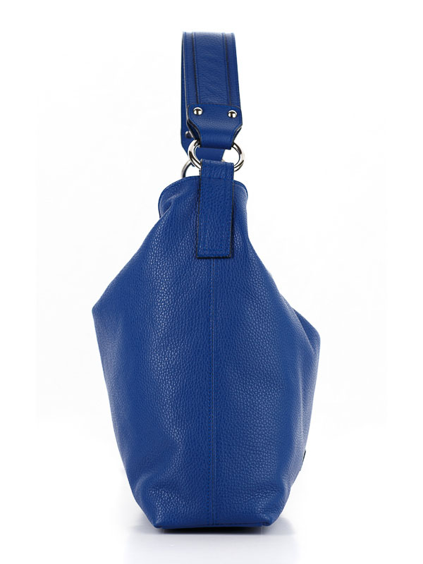 Tiano Collection Handbag Como Tote Color Bluette Side A