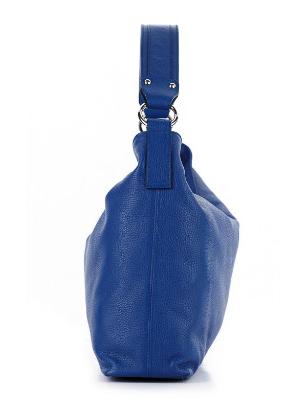 Tiano Collection Handbag Como Tote Color Bluette Side B